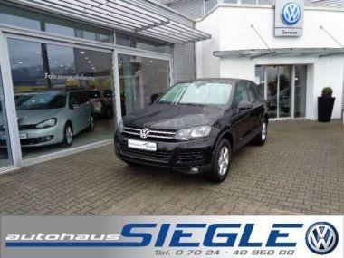 NOUVEAU +++ VW Voiture d'occasion: VW Touareg 3.0 V6 TDI*Leder*Xenon*AHK* für 27940 € +++ Les meilleures offres   4x4, 99812 km, 2012, Diesel, 245 CV, Noir   132621057   auto.de
