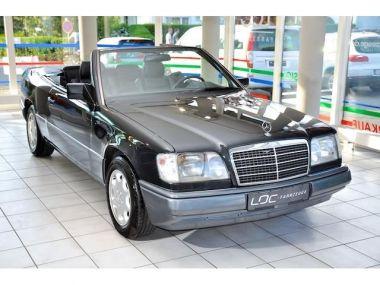 NOUVEAU +++ Mercedes-Benz Voiture d'occasion: Mercedes-Benz E 200 CABRIO *LEDER* für 11990 € +++ Les meilleures offres | Cabriolet/Décapotable, 237345 km, 1994, Essence, 136 CV, Noir | 134899941 | auto.de
