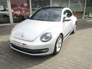 NOUVEAU +++ VW Voiture d'occasion: VW New Beetle Beetle 1.4 TSI DSG Sport /Xenon/Schiebed für 13980 € +++ Les meilleures offres | Berline, 29073 km, 2012, Essence, 160 CV, Argent | 134701383 | auto.de