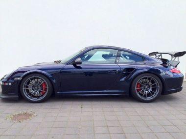 NOUVEAU +++ Porsche Voiture d'occasion: Porsche 911 997 GT 2 Clubsport *Ready for Race* für 143000 € +++ Les meilleures offres | Coupé, 24000 km, 2008, Essence, 530 CV, Bleu | 137214824 | auto.de