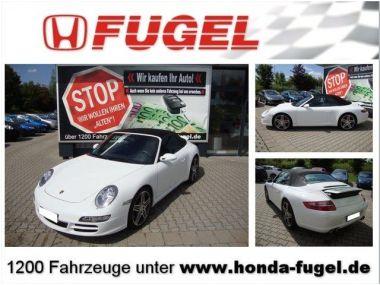 NOUVEAU +++ Porsche Voiture d'occasion: Porsche Carrera 911  S Klappenauspuff/Inspek.+ Reifen NE für 49000 € +++ Les meilleures offres   Cabriolet/Décapotable, 74000 km, 2007, Essence, 355 CV, Blanc   136538169   auto.de