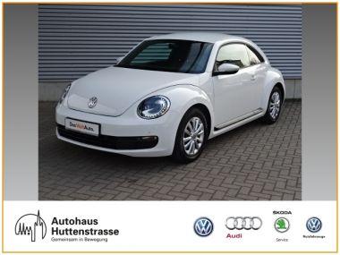 NOUVEAU +++ VW Voiture d'occasion: VW New Beetle Beetle 1.2 Xenon Navi für 10940 € +++ Les meilleures offres | Berline, 93700 km, 2012, Essence, 105 CV, Autre | 138784382 | auto.de