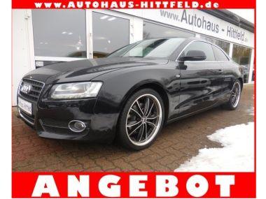 NOUVEAU +++ Audi Voiture d'occasion: Audi A5 2.0 TFSI Aut CoupeS-LineKlimaaut Xenon A für 17250 € +++ Les meilleures offres | Coupé, 92000 km, 2009, Essence, 179 CV, Noir | 138369594 | auto.de