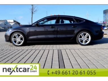 NOUVEAU +++ Audi Voiture d'occasion: Audi A7 Sportback 3.0 TDI QUATTRO 2x S-LINE für 32990 € +++ Les meilleures offres | Coupé, 115001 km, 2012, Diesel, 245 CV, Gris | 136207147 | auto.de