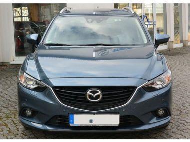 NOUVEAU +++ Mazda Voiture d'occasion: Mazda 6 Kombi CENTER-L. Diesel / Automatik / Xen für 23560 € +++ Les meilleures offres | Break, 25550 km, 2014, Diesel, 150 CV, Bleu | 131240139 | auto.de