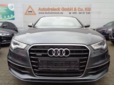 NOUVEAU +++ Audi Voiture d'occasion: Audi A6 Av. 3.0 TDI quattro tiptr. 2x S-Line Pan für 35950 € +++ Les meilleures offres | Break, 81700 km, 2012, Diesel, 313 CV, Gris | 137978537 | auto.de