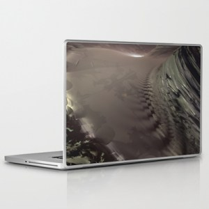 """Gold Gothic"" - Kurt Dahlke - Laptop Skin"