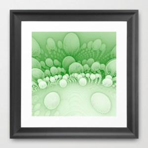 """Sub Orbit"" - Mandelbulb Art - Framed Print"