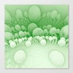 """Sub Orbit"" - Mandelbulb Art - Matthew Haggett -  Stretched Canvas"