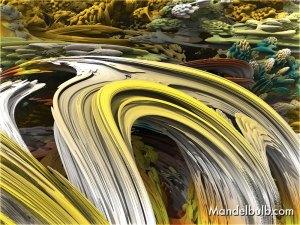 """Inside The Mandelbulb"" 3D Fractal Art, By Matthew Haggett, 2012"