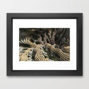 """""""Cascade Advance"""" - Matthew Haggett - Framed Print"""