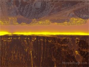 """""""As Above"""" 3D Fractal Art, By Kurt Dahlke, 2012"""
