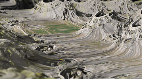 """""""In The Rough"""" Mandelbulb Photography by Matthew Haggett"""
