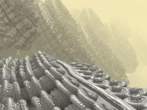 """""""Recurrent"""" 3D Fractal Art, By Kurt Dahlke, 2012"""
