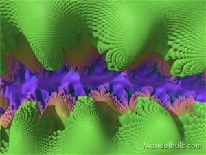 """River Bed"" 3D Fractal Art, By Matthew Haggett, 2012"
