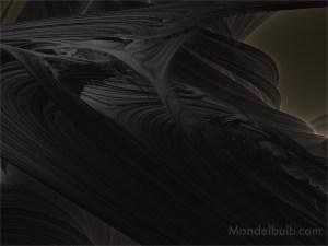 """""""Whispering Mound"""" 3D Fractal Art, By Kurt Dahlke, 2012"""