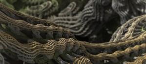 Cascade Advance - Original Mandelbulb Photography by Matthew Haggett, 2012