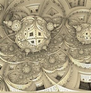 Autobot, 3D fractal art by Ricky Jarnagin/DsyneGrafix (c)