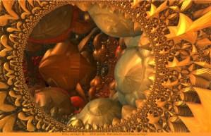 Hidden From View, 3D fractal art by Ricky Jarnagin/DsyneGrafix (c)