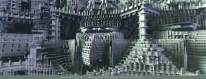 The SierPhilbert Complex, 3D fractal art by Ricky Jarnagin/DsyneGrafix (c)