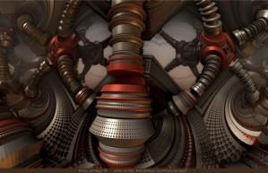 Tighten Up, 3D fractal art by Ricky Jarnagin/DsyneGrafix (c)
