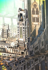 """""""Temple of Fractology"""", by Hal Tenny"""