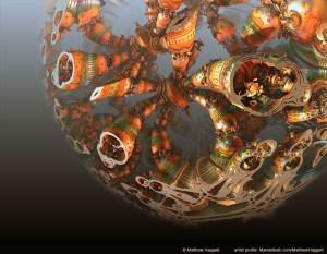 """Cryptographers Sphere"" by Matthew Haggett"