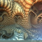 """""""Some Curling Tentacles"""" by Hal Tenny"""
