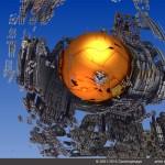 """""""Earthship Docked"""" by John Vega"""