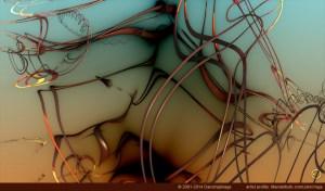 """""""Neurons (Panel 01)"""" by John Vega"""