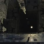 """Corridor Dark"" by Marc Vanlindt. 3D fractal art created with Mandelbulb 3D."