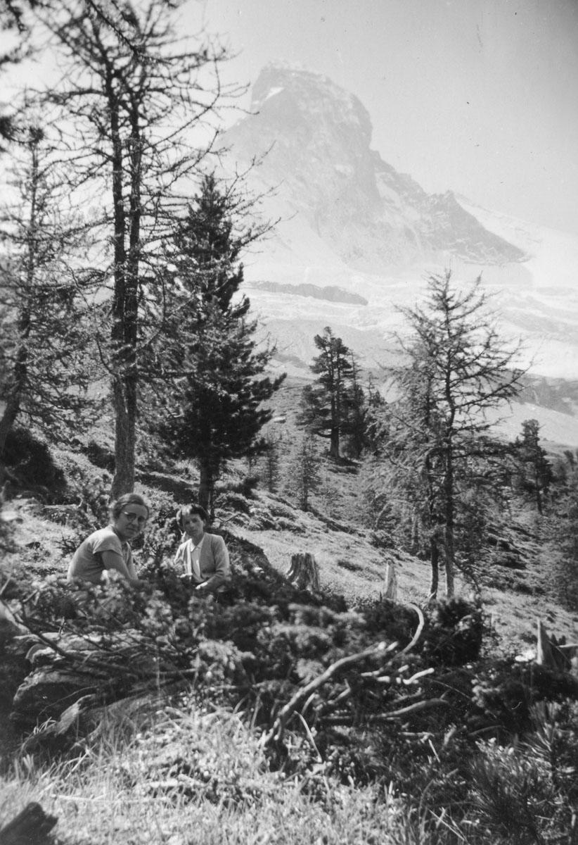 Staffelalp, 27 août 1945