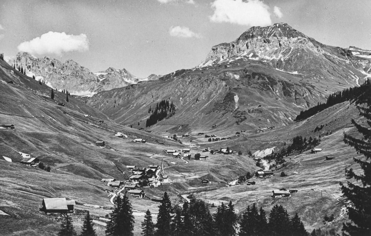 St. Antonien (Grisons), Scheienfluh et Schollberg, le 28 juin 1946