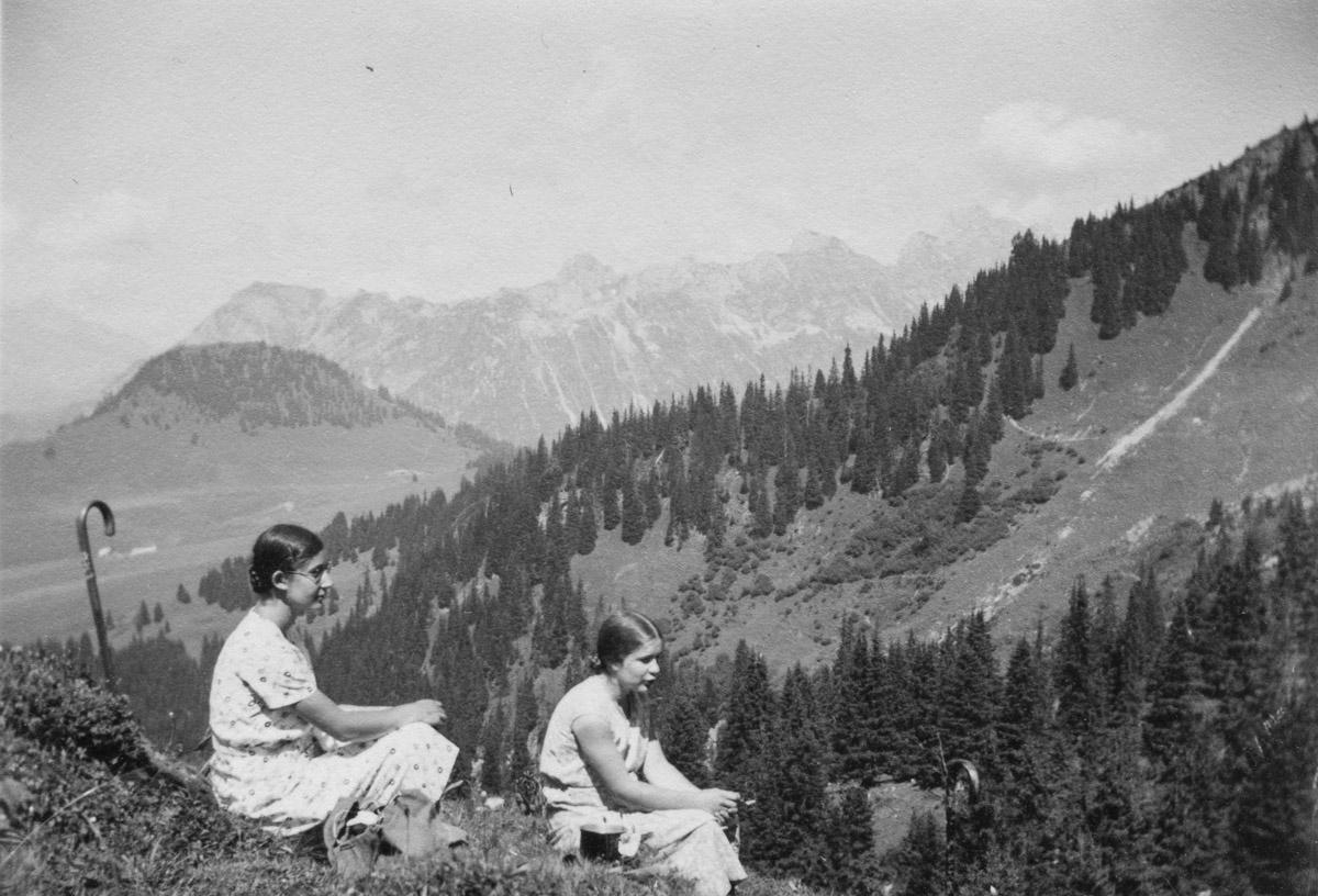 Au lac Lioson, 11 août 1935
