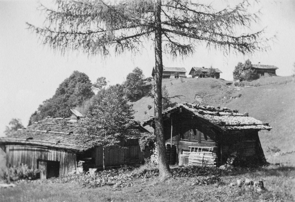 L'Abériau (Les Diablerets), août 1935