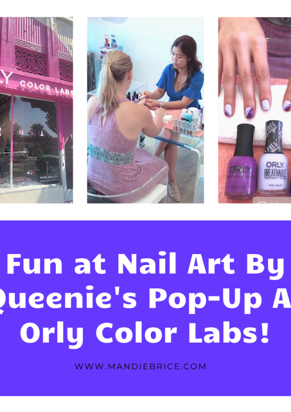 Nail Art by Queenie Pop Up At Orly Color Labs Los Angeles