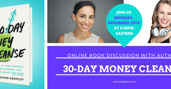 Join Us In Discussing the 30-Day Money Cleanse!