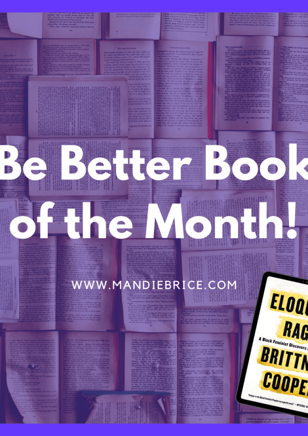March Book Club Book & Abundance Challenge