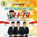 DPRD Siak Mengucapkan Selamat Hari Pres Nasional 2021