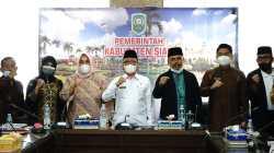 Terima kunjungan FPK Provinsi Riau, ini kata Arfan.