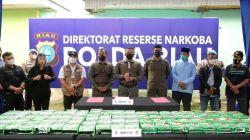 Sindikat Sabu Internasioal, 81 Kg Disita, Kapolda Riau : Kita Tidak Akan Berhenti Kejar Para Pelaku Narkoba