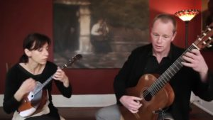 domra and guitar duo