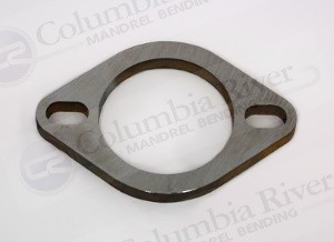 4 00 slotted 2 bolt universal exhaust flange 1 4 stainless