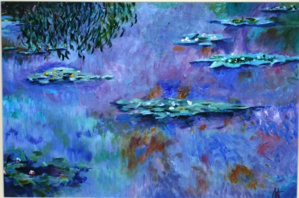 Impression - Water Lillies, Monet