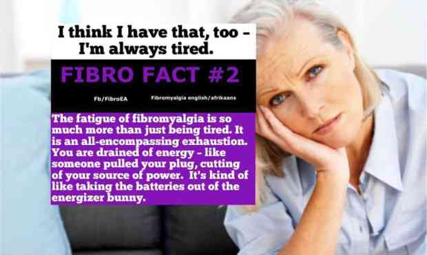 Fibro Fact2 #fatigue