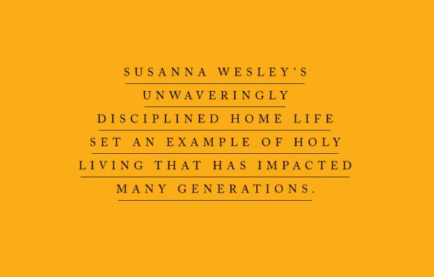 Susanna's unwavering discipline