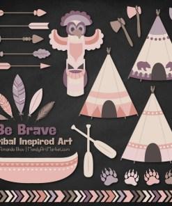 Buff Tribal Clipart