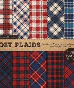 Americana Cozy Plaid Patterns