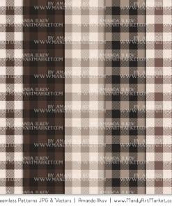 Brown Cozy Plaid Patterns