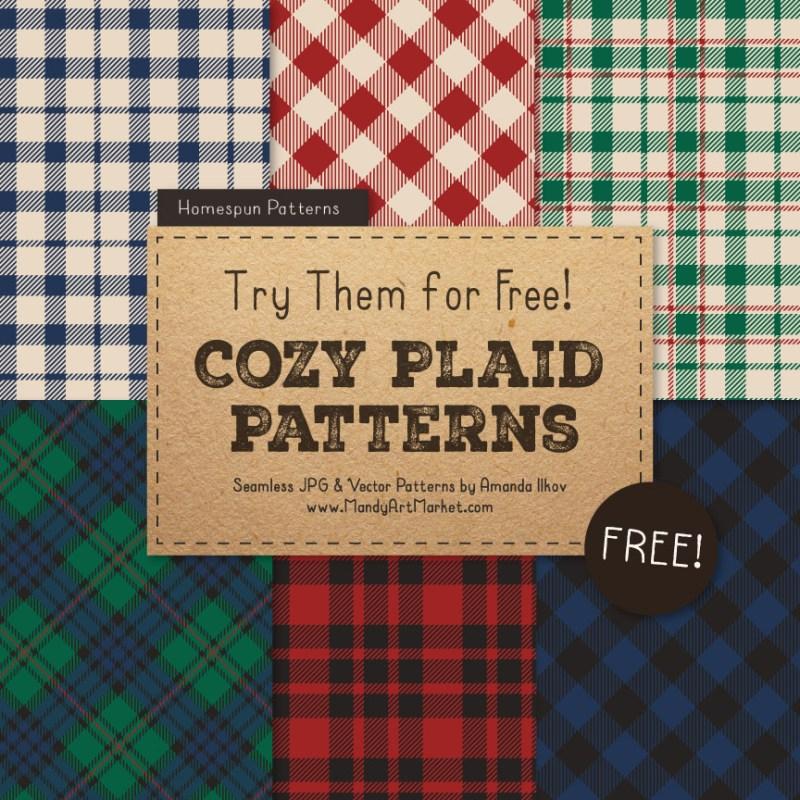 Free Plaid Patterns 1